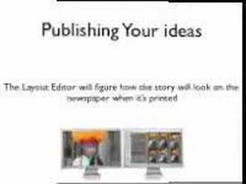 Creating A Newspaper Keynote