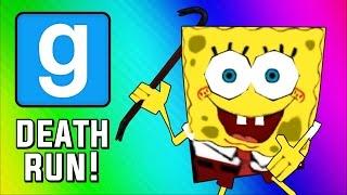 Gmod Deathrun - Spongebob Parody Map! (Garry