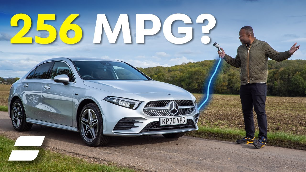 NEW Mercedes A-Class A250e Review: Plug-In Hybrid with 250+mpg | 4K
