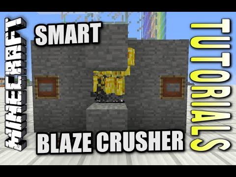 Minecraft PS4 - SMART BLAZE CRUSHER - How To - Tutorial ( PS3 / XBOX ) WII