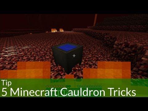 Tip: 5 Minecraft Cauldron Tricks