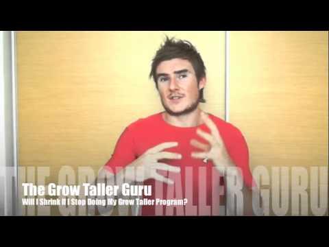 Will I Shrink if I Stop Doing My Grow Taller Program?