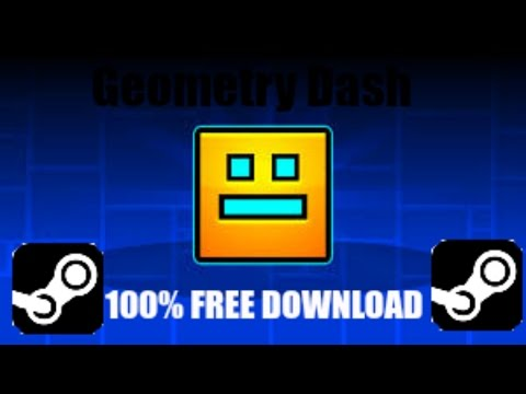 How To Get Geometry Dash Steam Version For Free! Link in Desc!