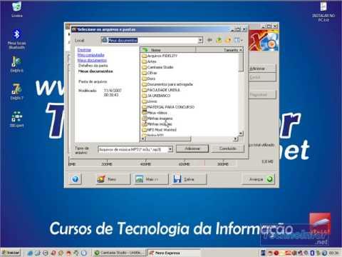 Nero 6   Gravando CD de MP3