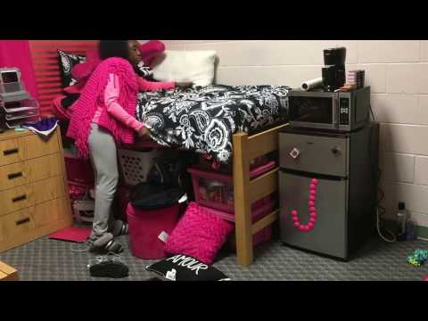 Clean My College Dorm Room w/ ME   JadaSimone
