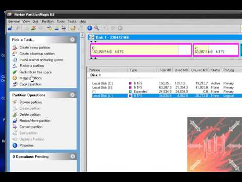 How to Resize, Create, Back Up, etc. a Partition on XP or Vista - Fast and Easy