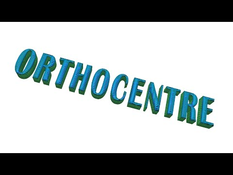 ORTHOCENTRE (Find in easy way)