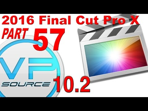 57. SAVE & DELETE CUSTOM TEXT / TITLES Final Cut Pro X 10.2.3 (2016)