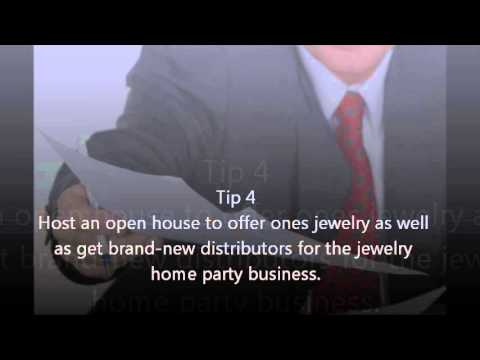 Home Jewelry Party Business 10 Marketing Ideas from HomBizLoop.com