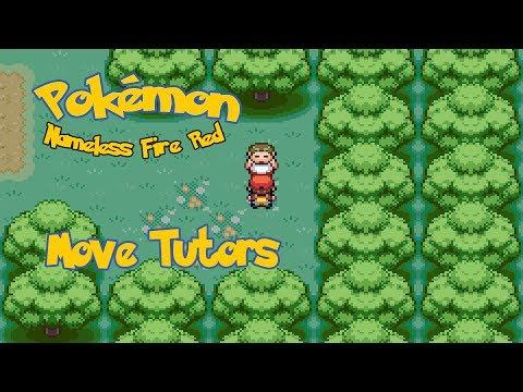 Pokémon Nameless FireRed: All Move Tutors