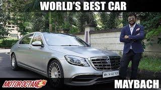 Mercedes Maybach - Best Car in the World?  | Hindi | MotorOctane