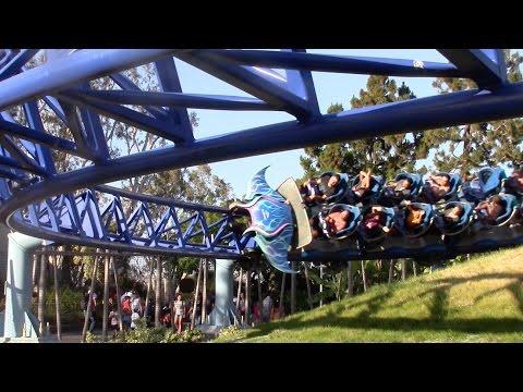 Manta Off-Ride SeaWorld San Diego HD 60fps