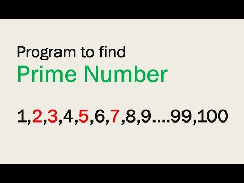 Write a program to print prime numbers between 1 to 100