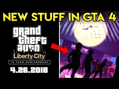 GTA 4 Is Getting NEW THINGS on it's 10 Year Anniversary!