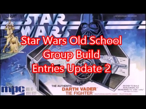 Star Wars Old School Group Build Entries Update #2 @ SMKR (Repost)
