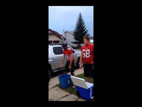 Central Alberta Buccaneers ALS ICE BUCKET CHALLENGE
