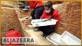 🇪🇸Archaeologists dig mass graves of Spanish Civil War era