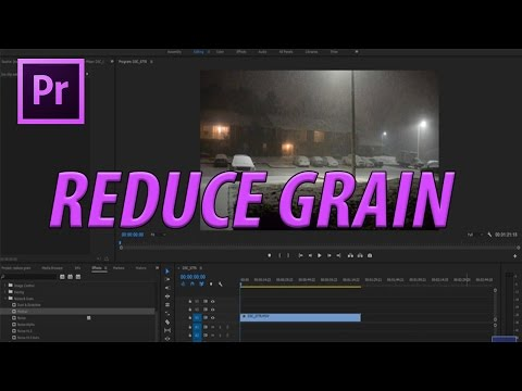 How to Reduce Grain in Premiere Pro CC without Plugins