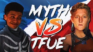 Myth vs Tfue - Pro Playgrounds (1v1 BUILD BATTLES!)