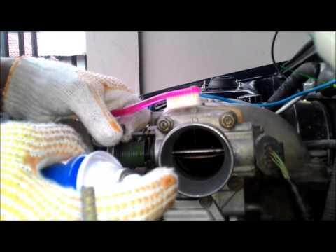 Cleaning Throttle Body KIA Sephia/Timor (Membersihkan Throttle Body KIA Sephia/Timor)