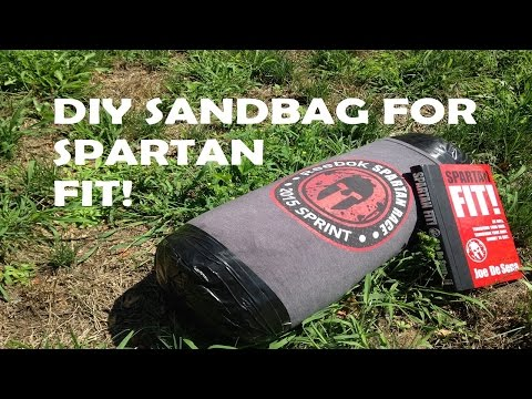DIY Sandbag for Spartan Fit!