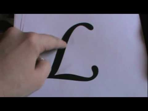 How to Paint Letters on a Wall