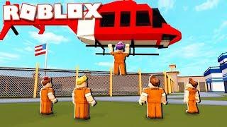 CRAZIEST JAILBREAK PRISON ESCAPE EVER IN ROBLOX!
