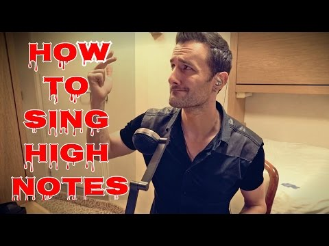 How To Sing High Notes For Guys ...Like Prince, Justin Timberlake, & Justin Bieber