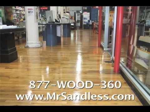 Mr. Sandless® Floor Refinishing!