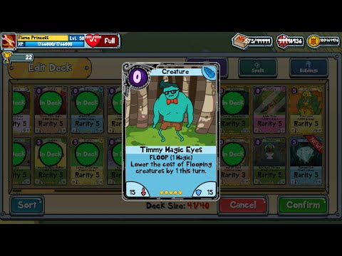 ALL BLACK CARDS!! Adventure Time: Card Wars Modded Gamseave for IOS & ANDROID