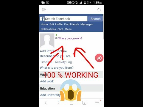 How to make full invisible Facebook id 100℅ working