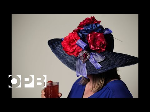 Kentucky Derby Drink And Hat: Three-Berry Switchel