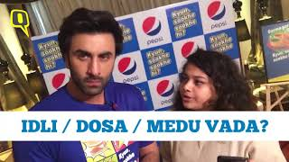 Pineapple on Pizza? Dosa or Idli? Ranbir Kapoor Gets Candid | The Quint