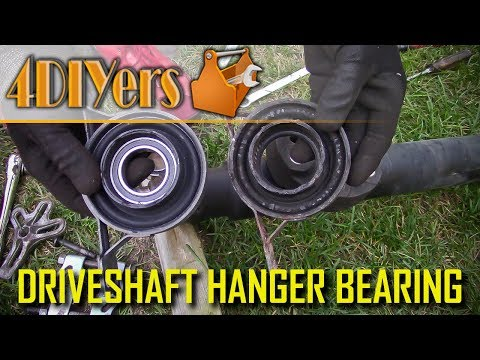 How to Diagnose a Faulty Driveshaft Center Support Bearing