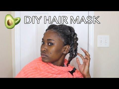 DIY Avocado Hair Mask For Moisture and Hair Growth 🥑