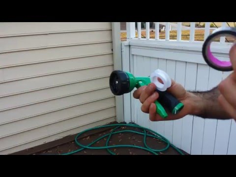 How to Leak-Proof Your Garden Hose and Spray Nozzle