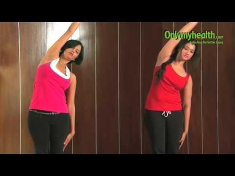 Intense Side Stretch (Yoga asana) - Yoga to Trim Side Fat