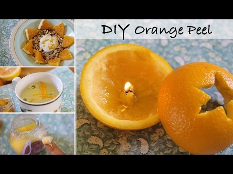 10 Home Uses for Orange Peel