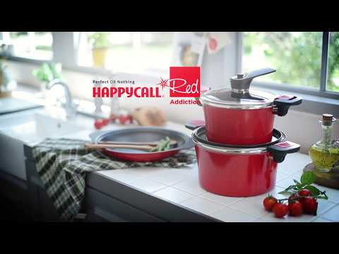 HAPPYCALL - RED ADDICTION IH VACUUM POT - FEATURES BY HEAP SENG GROUP