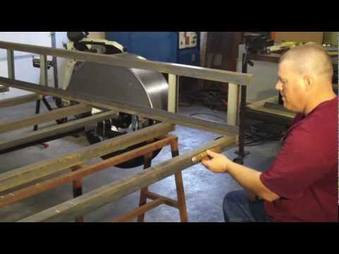 How to Build a Utility Trailer Part 8 Ramp or Tailgate and Tail Lights Installation