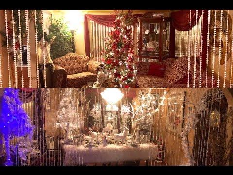 DIY HOLIDAY | Luxury Winter Wonderland Dining Room