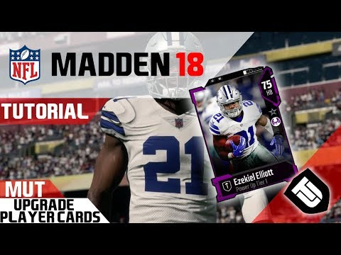 HOW TO UPGRADE YOUR PLAYERS IN MADDEN 18 ULTIMATE TEAM!!! Power Up Tier Players! Madden 18 Tutorial