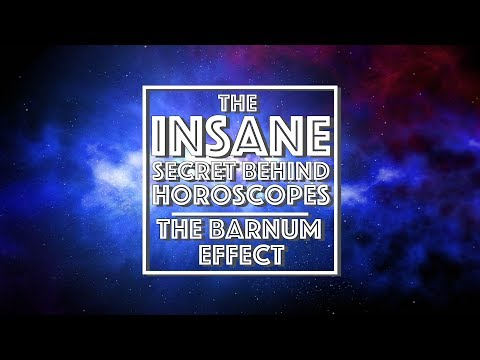 The INSANE secret behind Horoscopes EXPLAINED | The Barnum Effect (Video Essay)