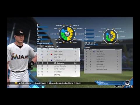 Creating My Fantasy Baseball Team*