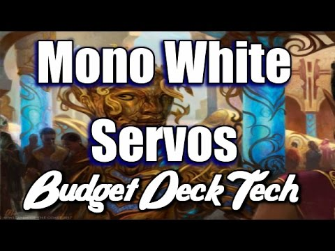Mtg Budget Deck Tech: Mono-White Servo Combo in Aether Revolt Standard!