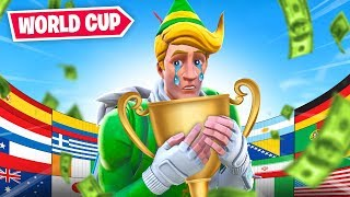 Lachlan Plays The Fortnite World Cup! (SOLO)