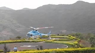 SALMAN KHAN Helicopter AT LAVASA , PUNE