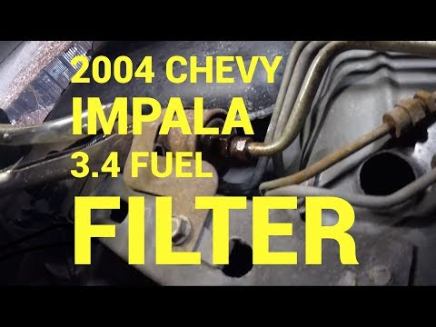 2004 Chevy impala fuel filter replacement : Philadelphia