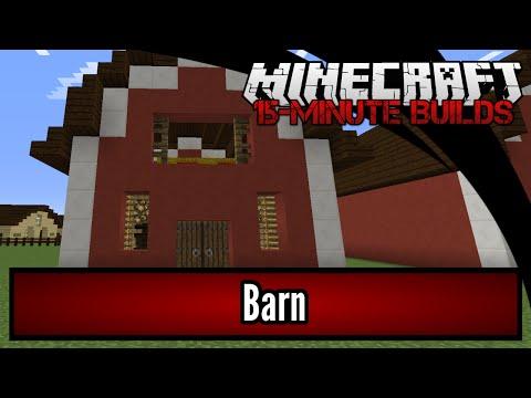 Minecraft 15-Minute Builds: Barn