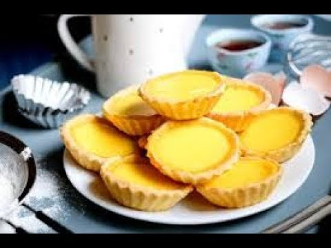 How to make egg tarts- easy with only 4 ingredients!